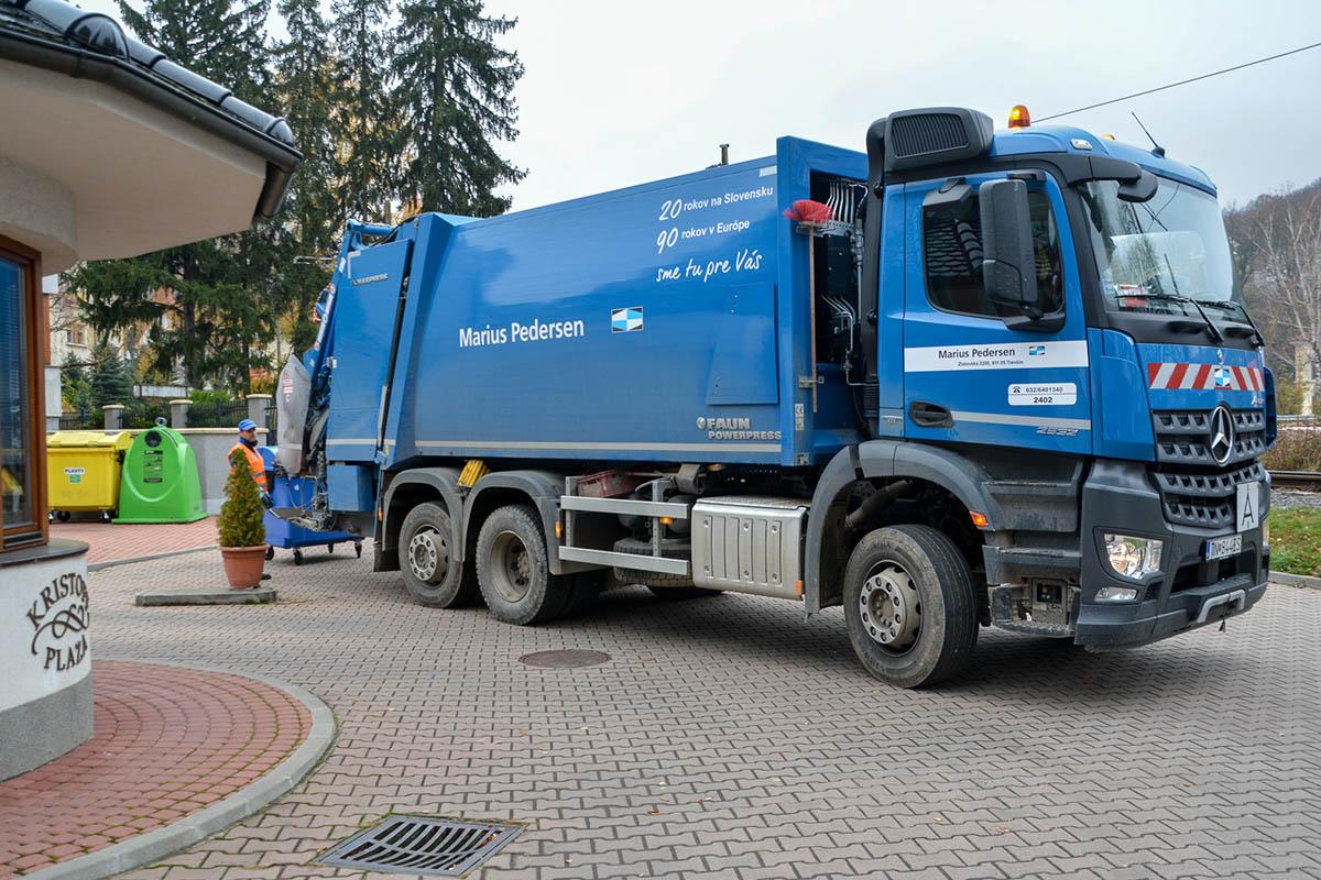 zber a preprava odpadov