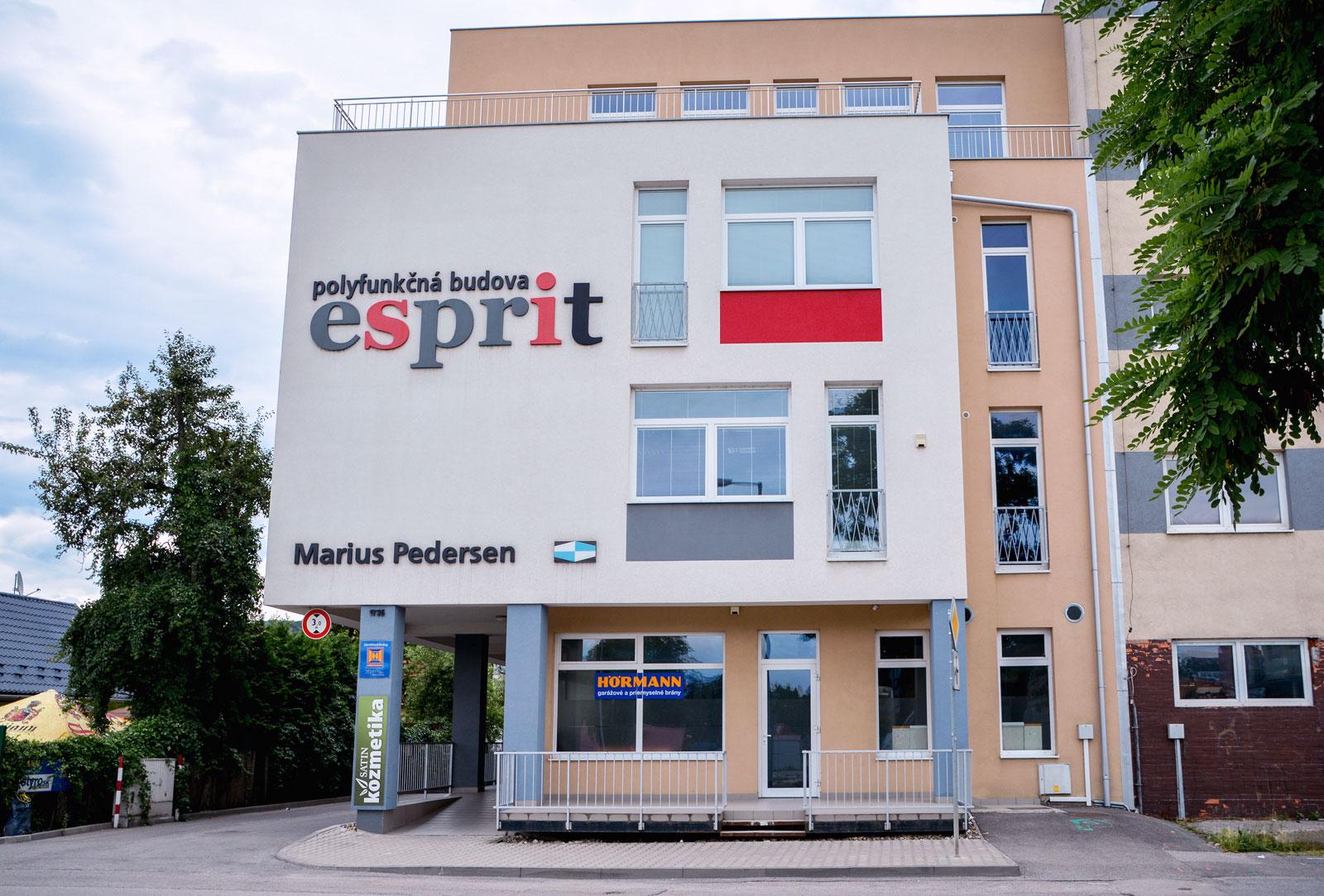 budova esprit Trenčín