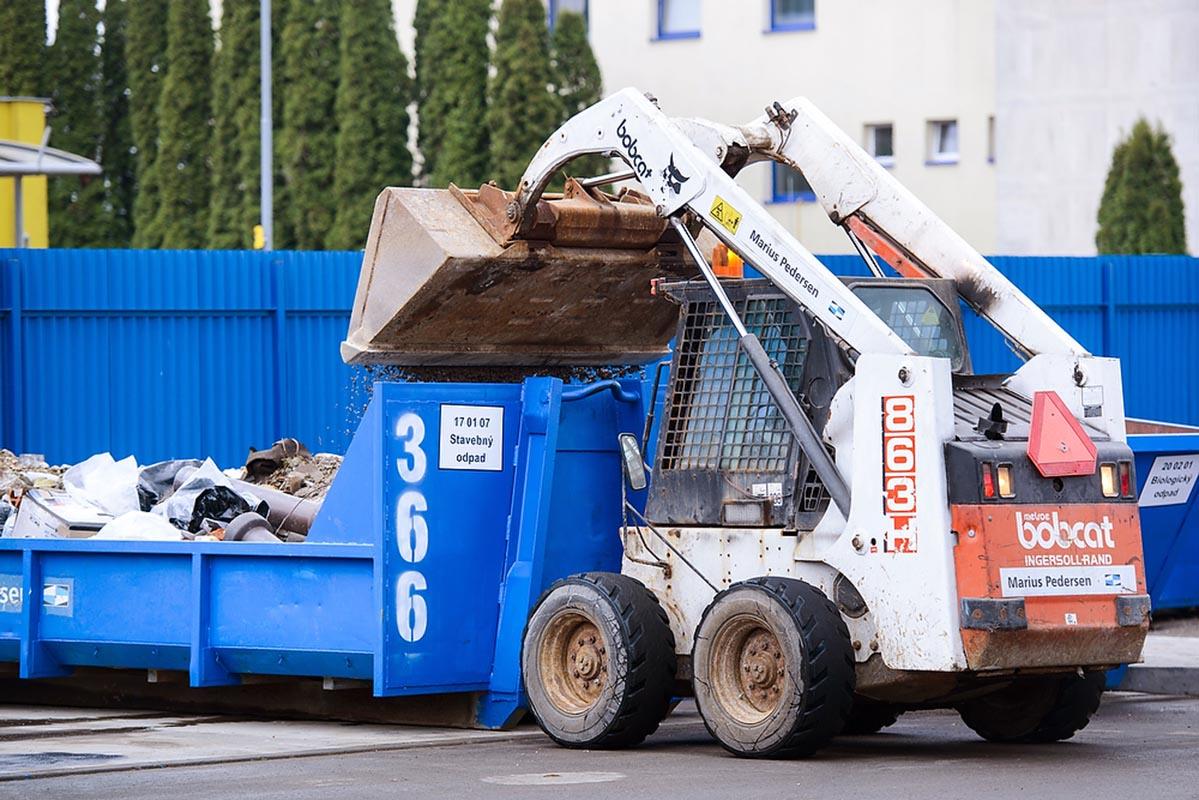drobný stavebný odpad