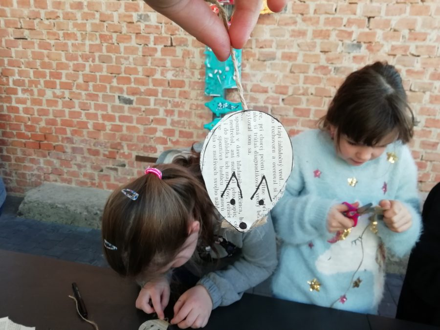 deti, tvorenie, papier, handmade