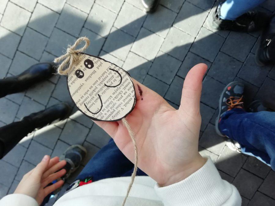 handmade, myš, papier